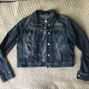 Maurices blue jean jacket size medium